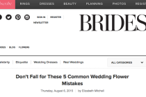 Wedding Flower Mistakes