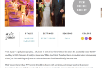 Sarah and Mike's Wedding on Style Me Pretty