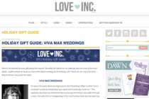 LOVE INC gift guide